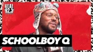 "Schoolboy Q Talks ""chopstix,"" Nipsey Hussle & More On Real 92.3"